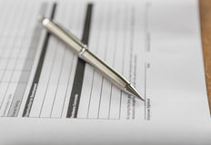 Close up of pen Stock Images