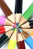 Close-up pencil. Stock Photos