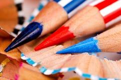 Close up pencil color Royalty Free Stock Photos