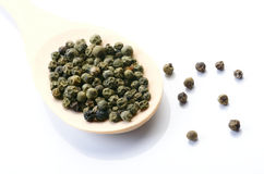 Close up of pepper grains Stock Image
