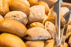 Close-up pequeno dos pães Fotografia de Stock Royalty Free