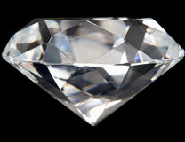 Close up of Perfect Diamond Royalty Free Stock Photo
