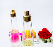 Close up of Perfume for Woman Stock Photo