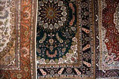 Close up of Persian Carpets Stock Photos