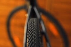 Close Up Photo of Bicycle Tire Royalty Free Stock Image