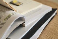 Close Up of Photo of Books Stock Photos