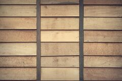 Close Up Photo Of Brown Wood Planks Stock Photo