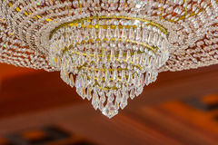 Close up photo of chandelier Stock Images