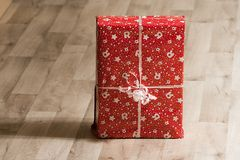 Close-up Photo of Christmas Gift Royalty Free Stock Photos