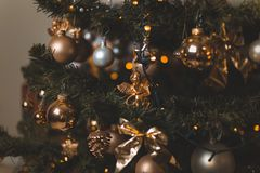Close-Up Photo of Christmas Ornaments stock photos
