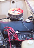 Close-up photo of filter installed on the carburetor Stock Photography
