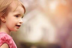 Close Up Photo of Girl in Pink Shirt Stock Photos