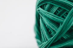 Close-up photo of green cotton Royalty Free Stock Photos