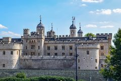 Tower of London Close-Up View stock image