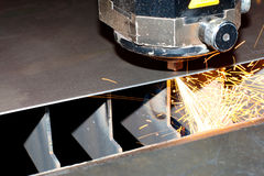 Close-up photo of the industrial laser Royalty Free Stock Photography