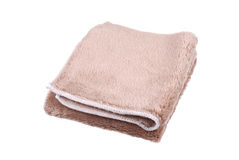 Close-up photo of microfiber cloth Royalty Free Stock Image