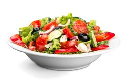 Close-up Photo Of Fresh Salad With Vegetables In Royalty Free Stock Photo