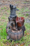 Close up photo of a old water pump Stock Photography