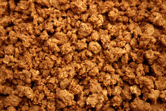 Close up photo of quorn mince Royalty Free Stock Photo
