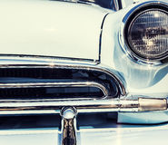 Close-up photo of retro car Royalty Free Stock Photos