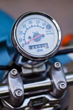 Close-up photo of retro scooter odometer Stock Images