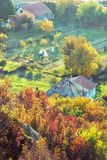 Close up photo of rural scene, vivid filter Royalty Free Stock Photography