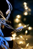 Close Up Photo of Stringlights Royalty Free Stock Image
