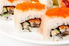 Close up photo of the sushi Royalty Free Stock Photo
