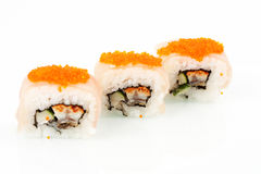 Close up photo of the sushi Royalty Free Stock Photography