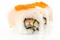 Close up photo of the sushi Stock Image