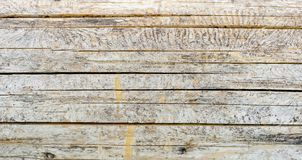 Close-up photo of texture of old wood with cracks. Natural texture background Stock Images