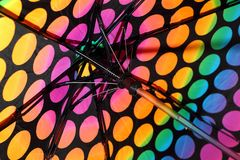 Colorful Umbrella royalty free stock photography