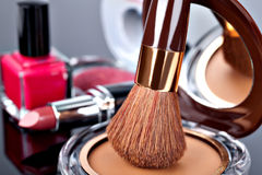 Various Cosmetics royalty free stock photo