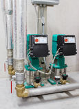 Close-up photo of water pumps Royalty Free Stock Photo