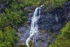 Close-up Photo of Waterfalls stock photography
