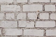 Close-up photo of white brick wall Royalty Free Stock Photos