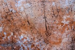 Grunge Abstract Rust Colored Background Texture Royalty Free Stock Photos