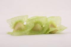 Close up photograph of Organic moringa seeds Royalty Free Stock Photography