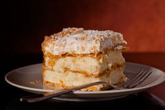 Tasty Millefeuille Stock Photos