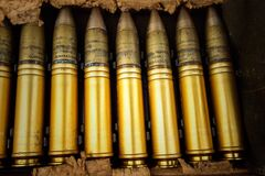 Close Up Photography of Beige Bullet Royalty Free Stock Images