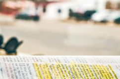 Close-up Photography of Bible Stock Photo