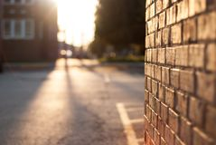 Close-up Photography of Brickwall Royalty Free Stock Images