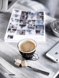 Close-up Photography of Coffee Royalty Free Stock Photography
