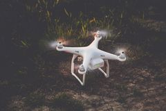Close-up Photography of Drone on Grass Royalty Free Stock Image