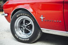 Close-up Photography of Ford Mustang Vehicle