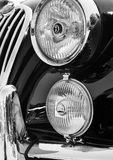 Close-Up Photography of Headlights Stock Photography
