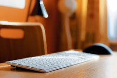 Close-up Photography of Keyboard Royalty Free Stock Photo