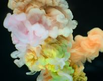 Close-up Photography Multicolored Smokes Stock Photography