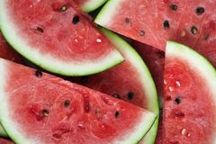 Close-Up Photography of Sliced Watermelons