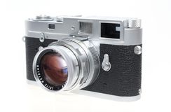 Close-up Photography of a Vintage Camera Royalty Free Stock Photo